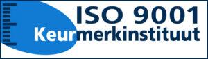 ISO 9001 certificeringslogo